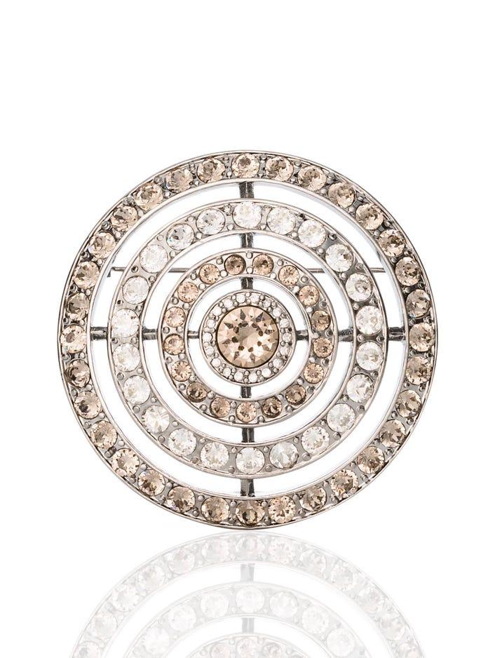 Swarovski Crystal Orbit Pin
