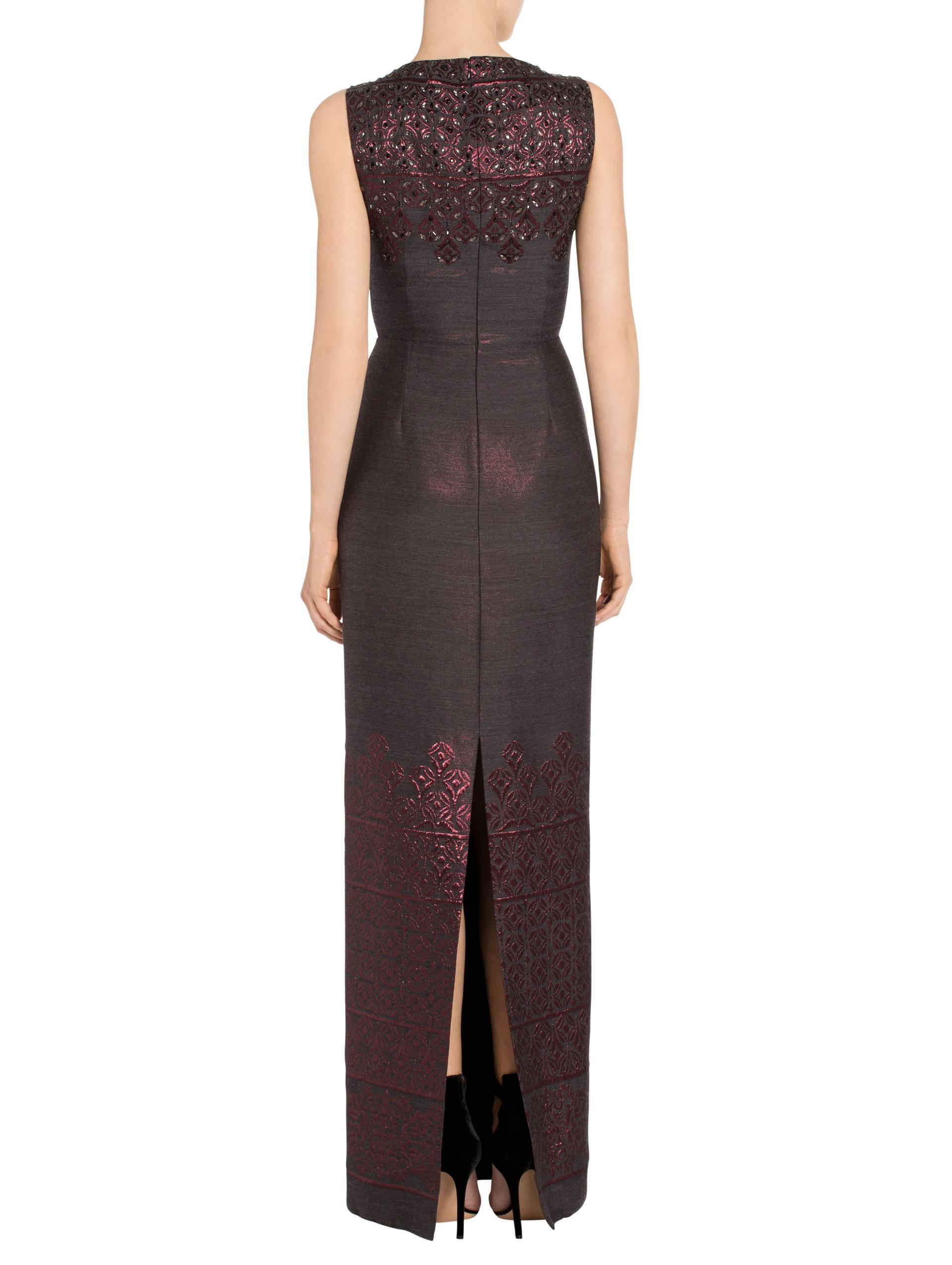 Women\'s Shavari Jacquard Gown   St. John Knits