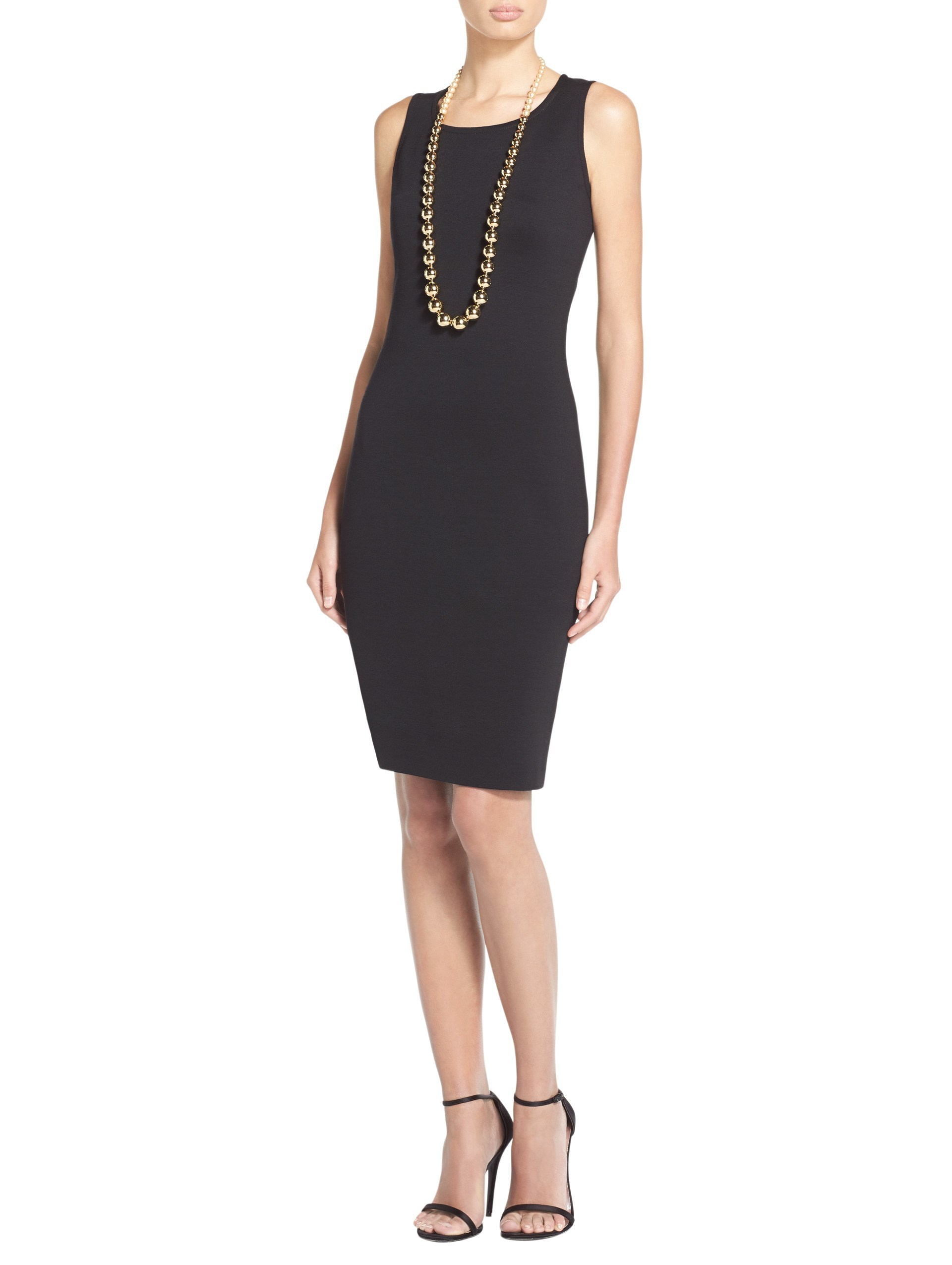women's milano knit sheath dress | st. john knits