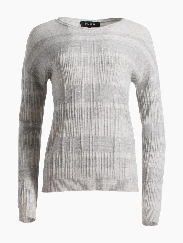 54cc09c13dbf Women s Cashmere Wool Blend Rib Knit Sweater