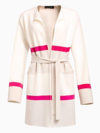 Felted Color Block Wool Cashmere Blend Knit Cardigan 8dc509313
