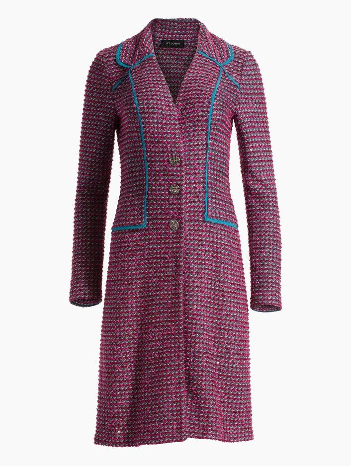 55ddc08e2 Women s Velvet Luster Knit Jacket