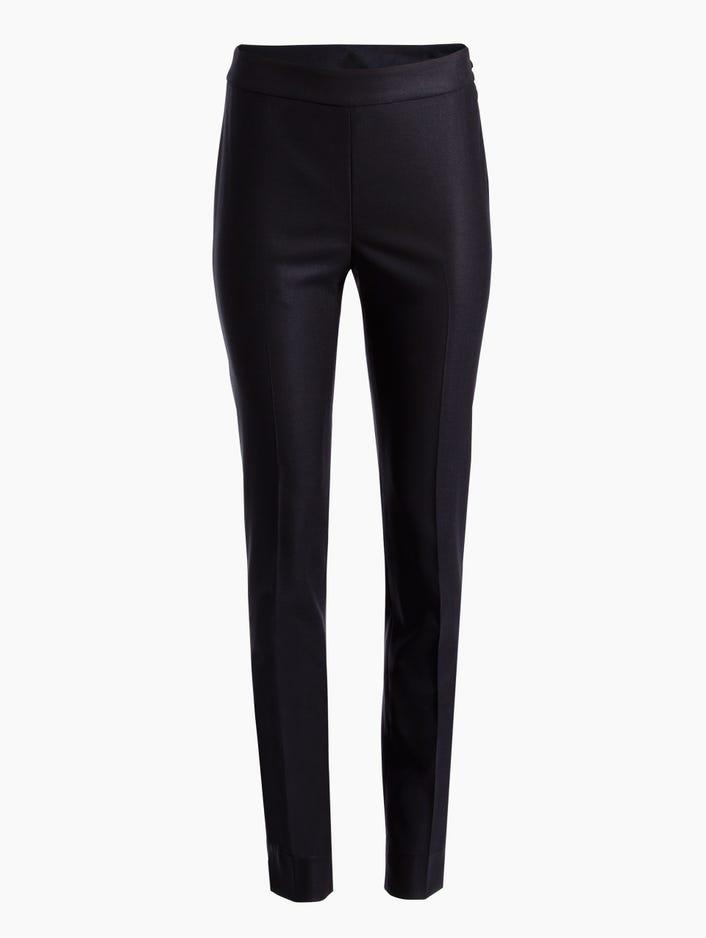 cf061df74e7 Women's Stretch Birdseye Suiting Skinny Ankle Pants   St. John Knits