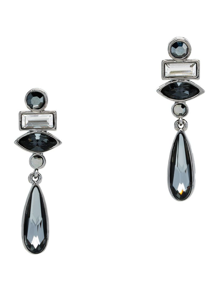 Swarovski Crystal Drop Earring