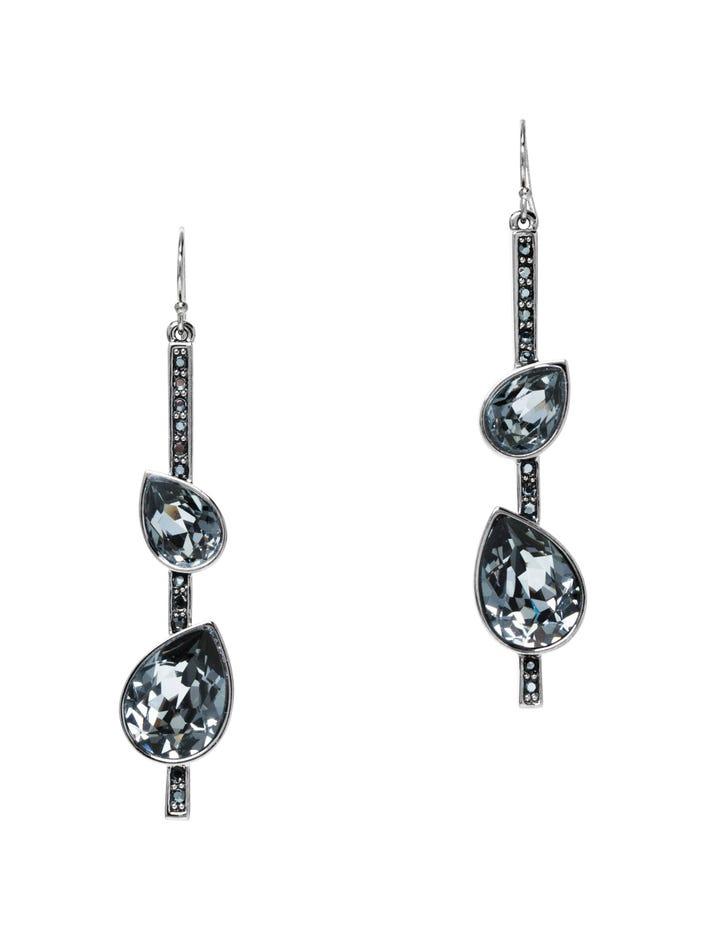 Swarovski Crystal French Wire Drop Earrings