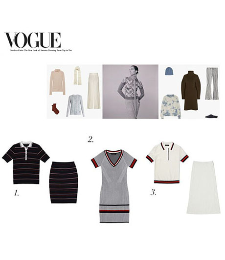Saint John Modern Knits Spread in Vogue