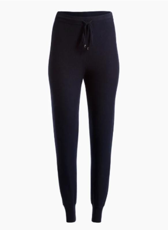 Cashmere Float Jacquard Knit Cropped Pants