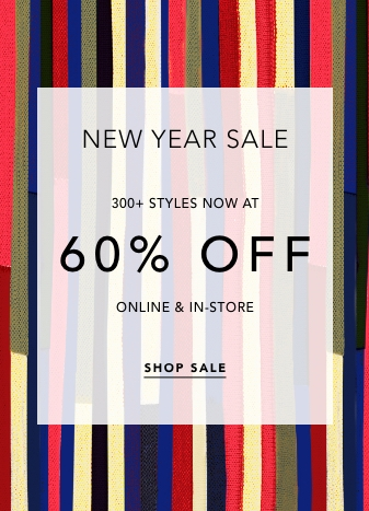 60% Off All Sale