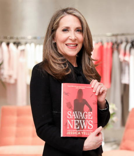 Jessica Yellin and her book Savage News