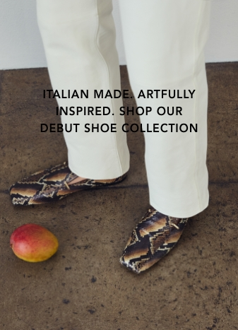 Italian made. Artfully inspired. Shop our shoe collection.