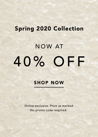 Spring Sale. 40% Off. Shop Now.