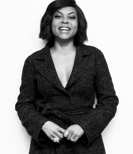 Taraji P. Henson Steps Out in Saint John