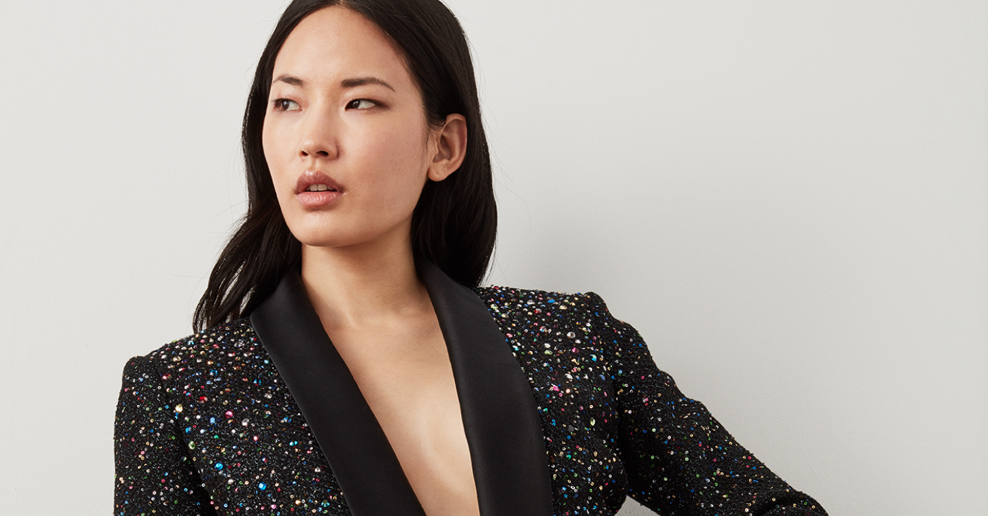 Confetti Sequin Jacket