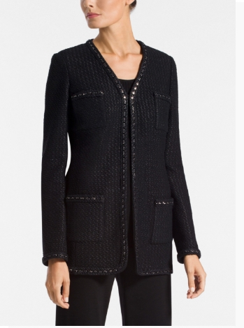 Adina Knit V-Neck Jacket