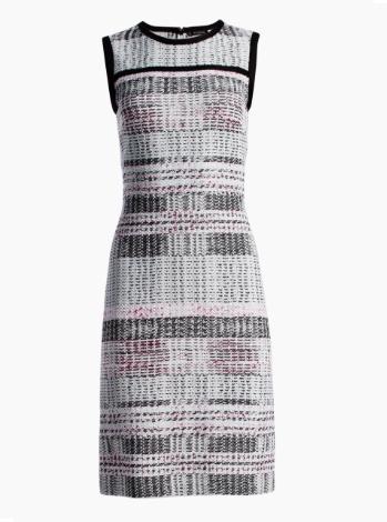 Bianca Plaid Knit Dress