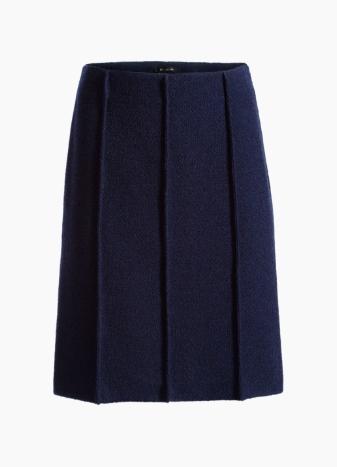 Ana Boucle Knit A-Line Skirt