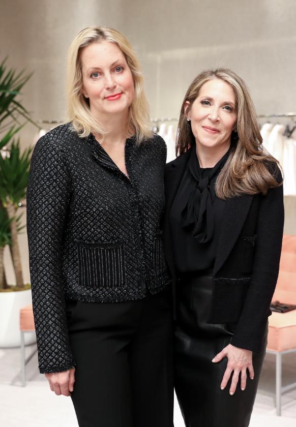 Ali Wentworth and Jessica Yellin in New York City