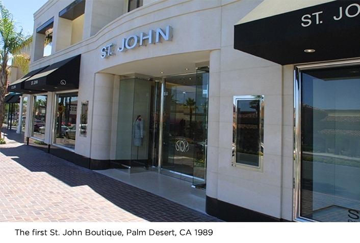 The first Saint John boutique in Palm Desert California