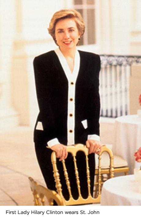 First Lady Hilary Clinton in Saint John