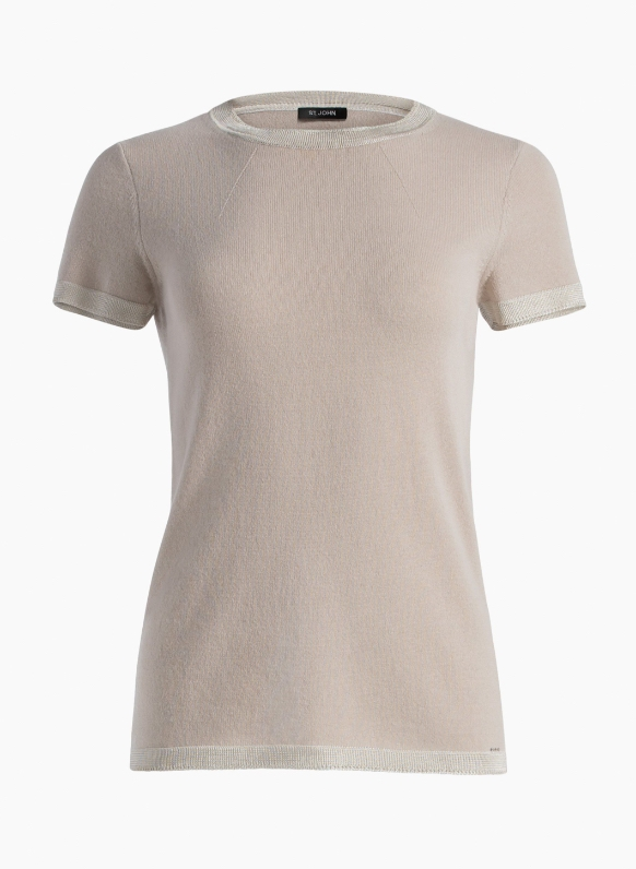 Jersey Cashmere Knit Top