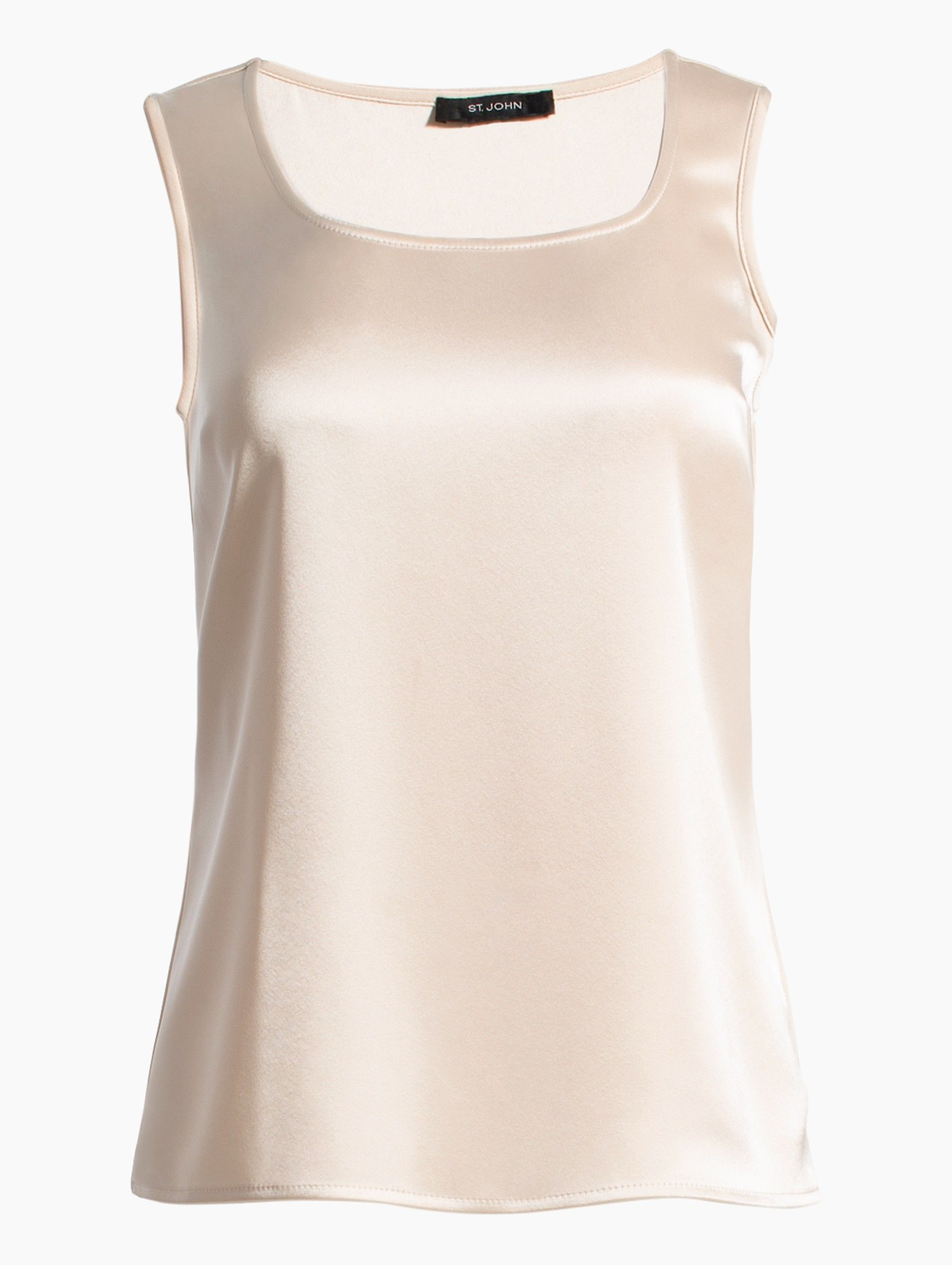 Saint John Liquid Satin Tank Top